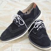 Нові туфлі,Італія,натур.замш,42 розмір