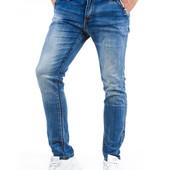Мужские джинсы slim fit в наличие 34 и 36р.