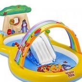 """Игровой центр """"Winnie Pooh"""" с горкой и радугой"""