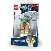 Лего брелок-фонарик Звездные войны - Йода lgl-ke11