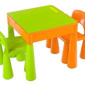 Tega Mamut детский столик и 2 стульчика