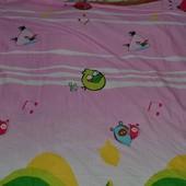 Большая простынь детская Энгри бердз Angry Birds