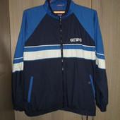 куртка-ветровка спортивная очень большой размер 62-64