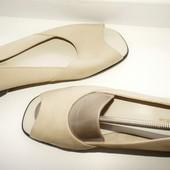 Туфли босоножки мокасины Footglove M&S 39,5р Кожа