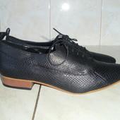 Zara Basic Collection кожаные туфли (39)