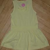 Прикольное летнее платье сарафан фирменный яркий 2 - 3 года но рост 98 см