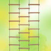 Веревочная лестница Лиана, 200*100, БУК, для улицы, дома, спортивных уголков от производителя