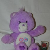 Плюшевый Мишка Care Bears Заботливые мишки фиолетовый озвучен и обнимается