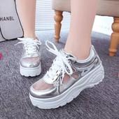 Стильные кеды кроссовки на платформе отличного качества! Сетка !Новая коллекция !!Ваши ноги дышат