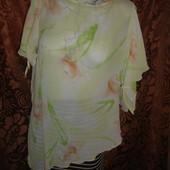 Распродажа  фирменная блузка  46-48 размер
