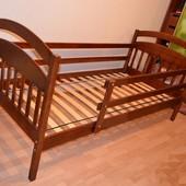Детская кровать Иринка+ящики+матрас Чемпион+улитка в подарок