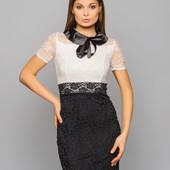 Платье из гипюра В Наличии 44-46р.
