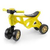 Мотоцикл 4 колеса желтый Беговел 2 Орион 188 ролоцикл