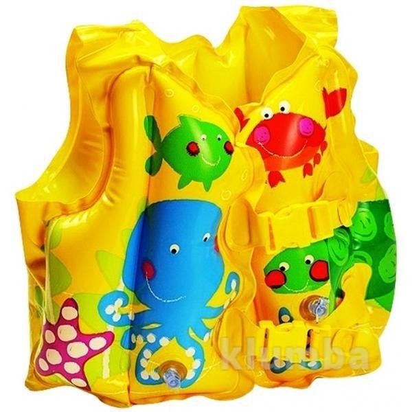 Детский надувной жилет рыбки 2-5 лет 59661 фото №1