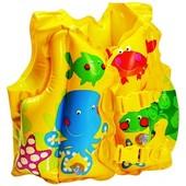 Детский надувной жилет рыбки 2-5 лет 59661