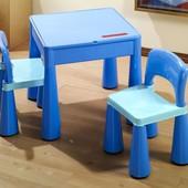 Комплект Tega Mamut стол +2 стула Tega Mamut