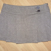 Теплая мини-юбка, р.48-50