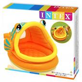 Бассейн надувной с навесом «Рыбка». Intex 57109