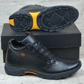 Новинка мужские зимние кожаные ботинки код ОК Чл 3