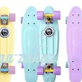 Скейтборд/скейт пенни борд (Penny Board) пенни pastels siries Fishskateboards