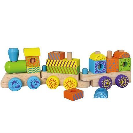 """Конструктор Viga Toys """"Поезд"""" (50572B) фото №1"""