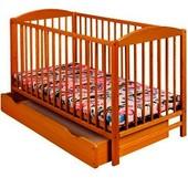 Детская кроватка Klups Radek II тик