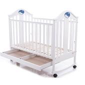Детская кроватка Baby Care BC-433M белая