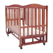 Детская кроватка Baby Care BC-407bc темная орех