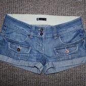 Джинсовые шорты взрослые размер 10