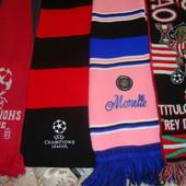 Фірмові оригінальні футбольні шарф..