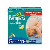 Подгузники Pampers active baby 5 11 18кг  111шт,супер цена
