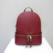 Кожаный рюкзак Michael Kors cherry оригинал