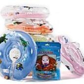 Круги на шею Дельфин для купания детей с рождения