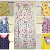 Новые летние платья для девочки H&M