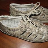комфортные  кожаные  туфли  ф. Remonte  размер  6 1/2   -  25.5 см