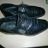 Gabi - Mar Italy муж. кожанные туфли 42р - 27см б/у