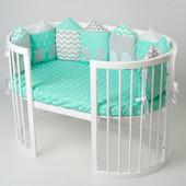 BaggyBed Oval овальная детская кроватка