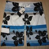 Новые пляжные шорты для мужчин из США, размер 34