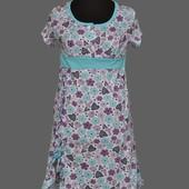 Сорочка ночнушка на пуговицах короткая расцветки размеры от 44 до 54