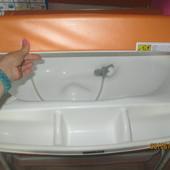 Стол пеленальный с ванночкой и кроваткой  САМ