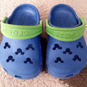 Кроксы Crocs Disney, оригинал, 4-5р., 13,5 см