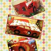 Кровать - авто Молния Маквин. Изготовление под заказ.