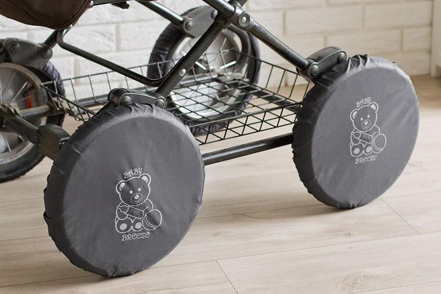 Чехлы на колеса детской коляски 0341 фото №3