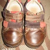 Мокасіни (кросівки, кроссовки) Clarks 22 р. (14 см) шкіра