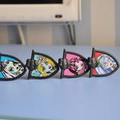 Monster High Кольца, подвеска накладка на телефон, наушники
