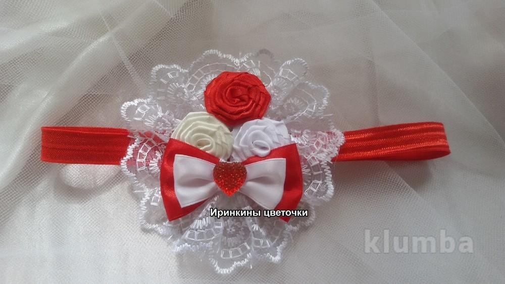 Роскошная повязка для головы. фото №1