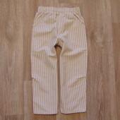 Моднячие льняные штаники Valenri, размер 4 года, состояние новой вещи.