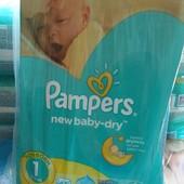 Памперси подгузники Pampers Active Baby 1размер 2-5кг 43шт