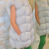 Жакеты из арктической лисы.Разные цвета!