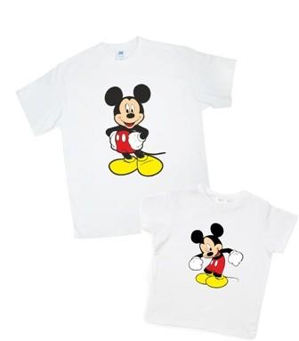 Комплект футболок папа-сын (цвета в ассортименте) фото №1
